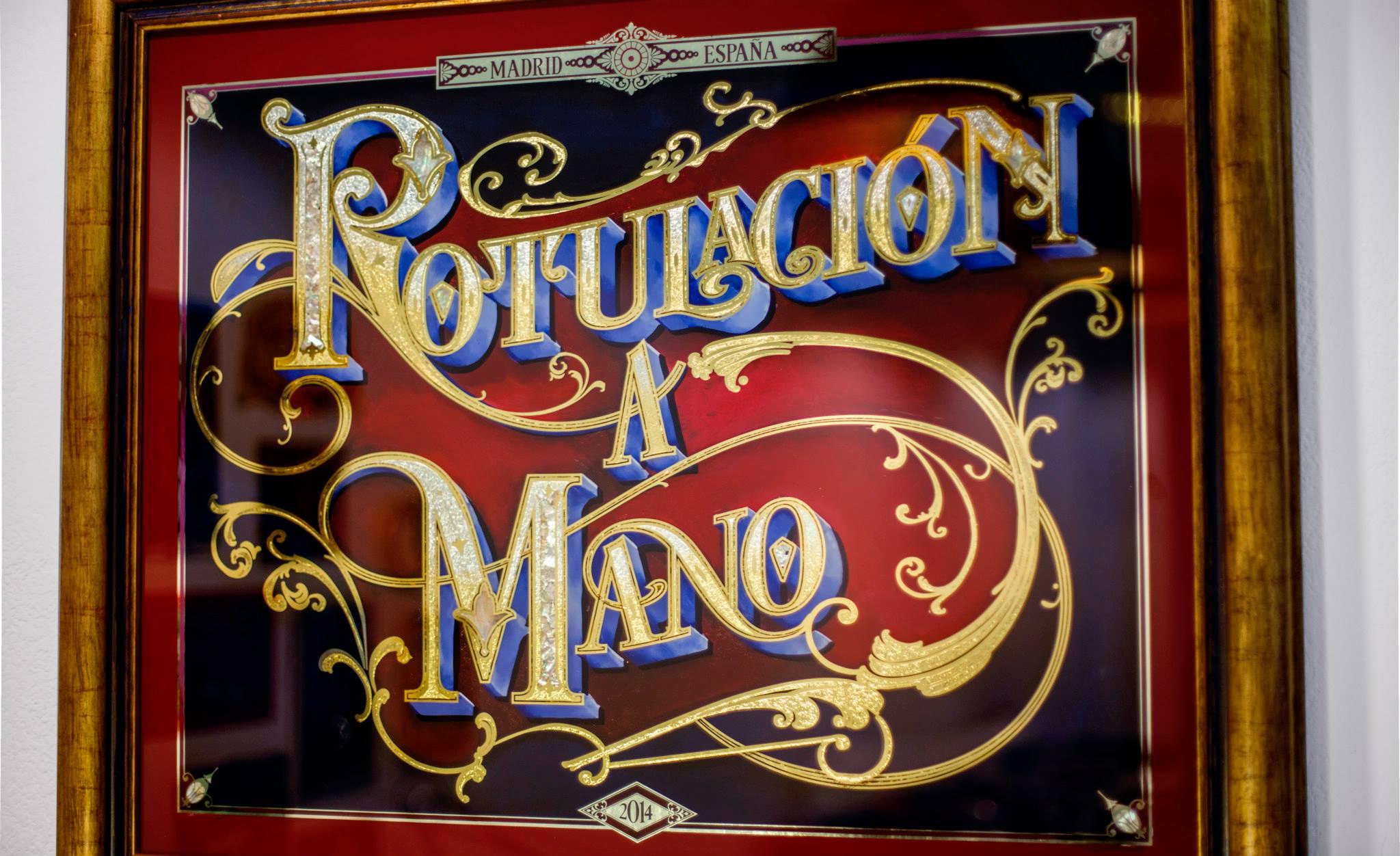 Rotulaci n tradicional a mano lettering monkeyb murales - Murales de pared pintados a mano ...