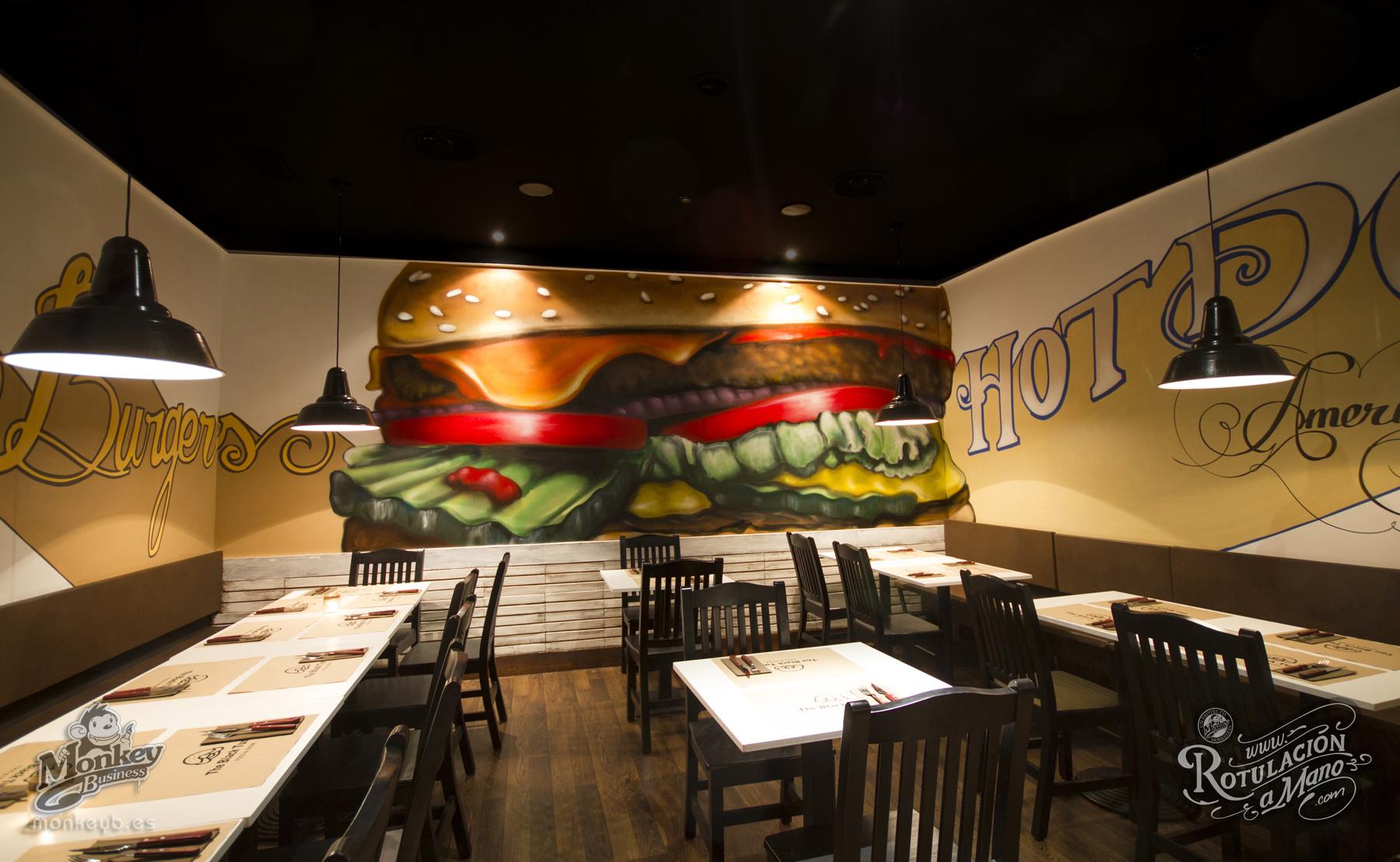 Muralismo profesional fachadas interiores pintura a - Decoracion de bar ...