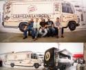 La virgen cervezas foodtruck mural