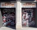 cierres Ginos barcelona graffiti